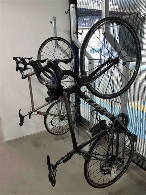 Hanging Bike Rack by Hanging Bike Rack Vertical