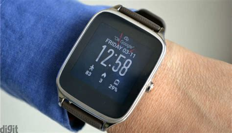 Asus Zenwatch 2 asus zenwatch 2 w1501q review digit in