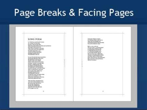 Poetry Books Guidelines Design Options Youtube Poetry Book Layout Templates