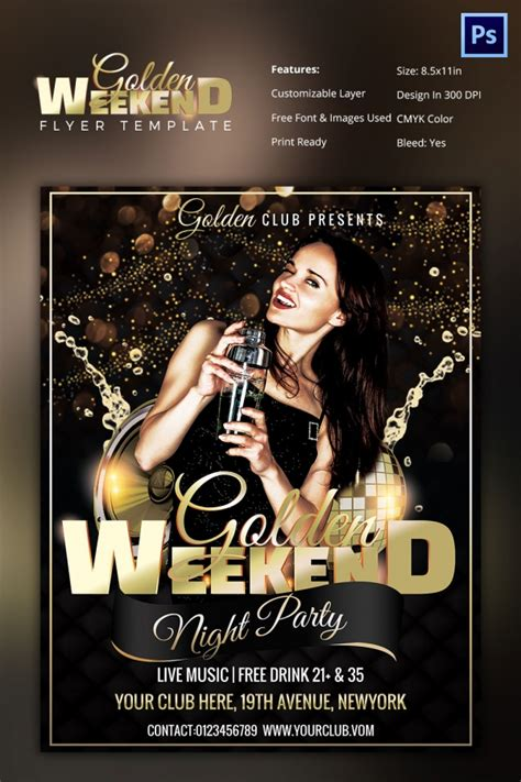Club Flyer Templates Photoshop Club Flyer Templates Photoshop Free And Premium Psd Fly And Elegant Ladies Night Party Free