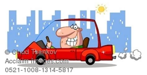 driving home from work clipart stock photography