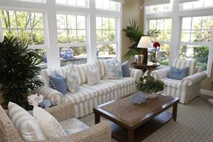 French Blue Upholstery Fabric 30 Sunroom Ideas Beautiful Designs Amp Decorating Pictures