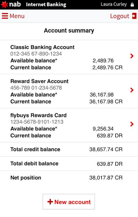 how to nab bank account nab android apps on play