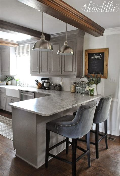 dear lillie the finishing touches on our kitchen makeover