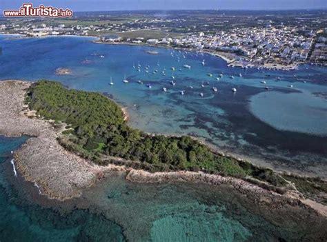 immagini porto cesareo vista aerea di porto cesareo in primo piano foto