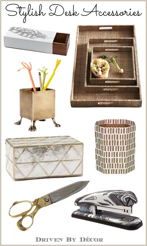 fashion desk accessories a stylish organized desk favorite accessories driven