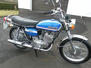 Suzuki History Motorcycle History Of The Suzuki T250 Motorcycle Automotive Flashback