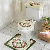 hummingbird bathroom toilet accessories 3 pc