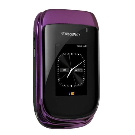 Blakberry Syle 9670 blackberry style 9670 purple smartphone replaceyourcell