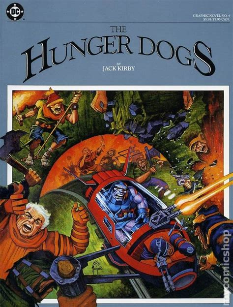 must dogs a howliday volume 6 books hunger dogs gn 1985 dc by kirby comic books