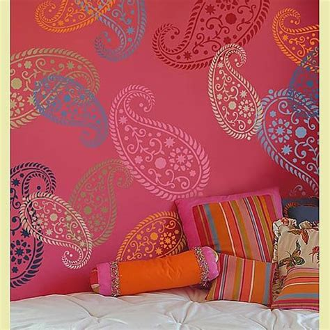 fabric pattern stencils ideas stencil vintage paisley sm reusable stencils for walls and