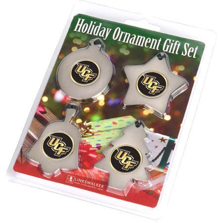 ucf knights christmas ornament ncaa ucf knights ornament gift set walmart