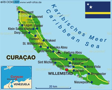netherlands curacao map map of curacao netherlands map in the atlas of the