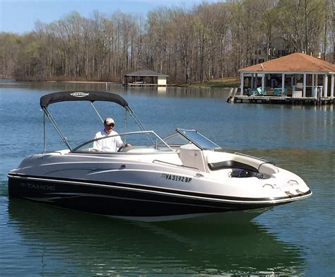 tahoe 23 foot deck boat boat for sale from usa - 23 Foot Boat