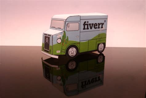 Paper Craft Company - make a papercraft citroen hy delivery with your logo on it