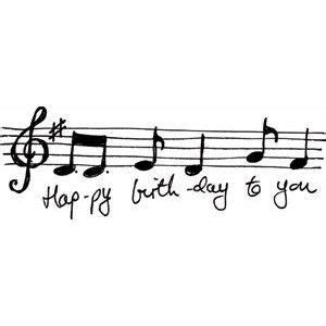 music themed birthday quotes happy birthday music notes happy birthday birthday