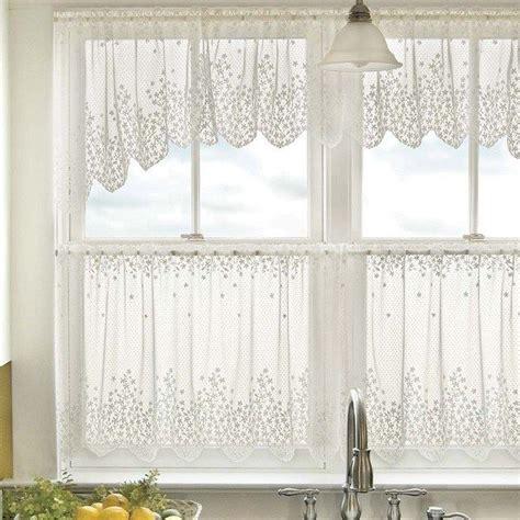 kitchen cafe curtains ideas white lace kitchen window curtains ideas cafe curtains