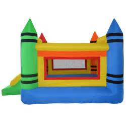 mini crayon bounce house jump castle