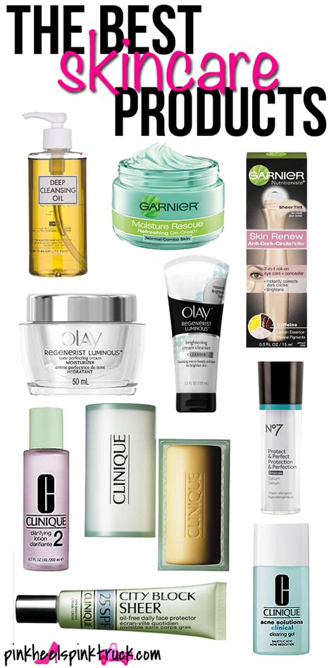 best products for skin care the best skincare products bradford