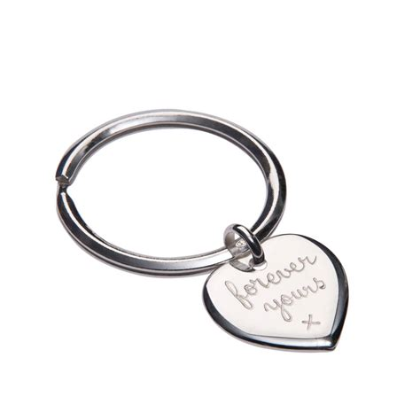 personalised sterling silver person keyring by merci maman