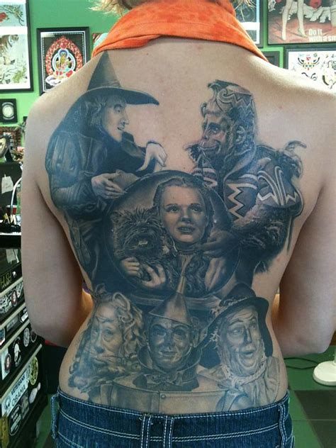 oz tattoo wizard of oz tattoos are hugely popular even today 75