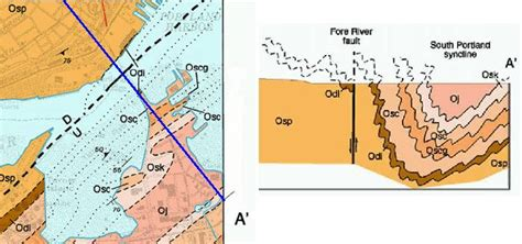 geological section maps maine geological survey reading detailed bedrock geology maps