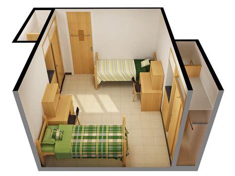 The Dakota Floor Plan by Stockbridge Hall Residence Life Ndsu