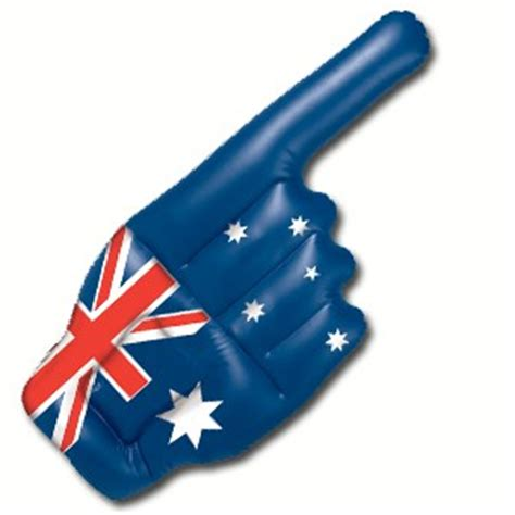 australian inflatable hand ea party supplies