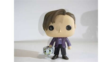 Funko Pop Eleventh Doctor 220 funko pop vinyl sdcc exclusive doctor who 11th doctor with cyberman