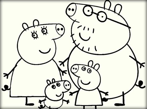 peppa pig coloring pages baby pig coloring food pages with daddy peppa book grig3 org