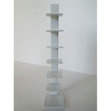 white tower bookcase modern dollhouse furniture m112 pods tower bookcase in