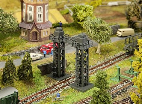 Faller Countrysite Decor Acceessories Miniature Building Ho Scale faller 222166 2 sanding towers