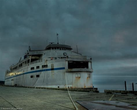 boat service vancouver ghost ship abandoned ferry queen of vancouver ready for