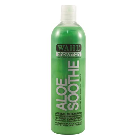 Skin Soothing Organic Gunge From Charles Jordi by Wahl Showman Aloe Soothe Shoo Horsestyle
