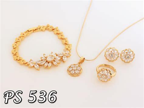 Perhiasan Xuping Set produk perhiasan set xuping terbaru pusat perhiasan set