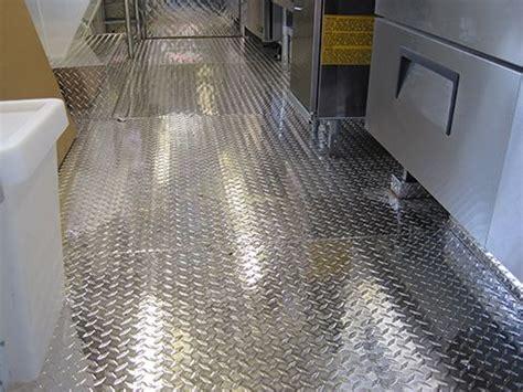 Aluminum Flooring Food Trucks Build Quality