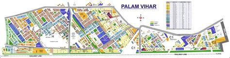Layout Plan Of Palam Vihar   palam vihar gurgaon plots