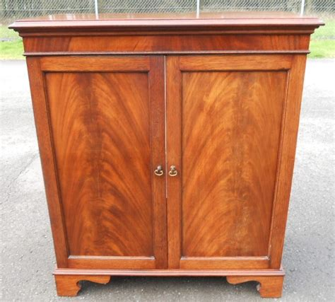 mahogany tv cabinet with doors tv cabinet in antique georgian style mahogany