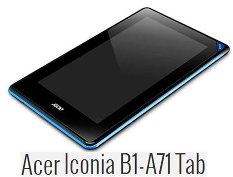 Touchscreen Acer Iconia B1 A71 Ori tablet murah acer iconia b1 a71 8gb riaadfujicom
