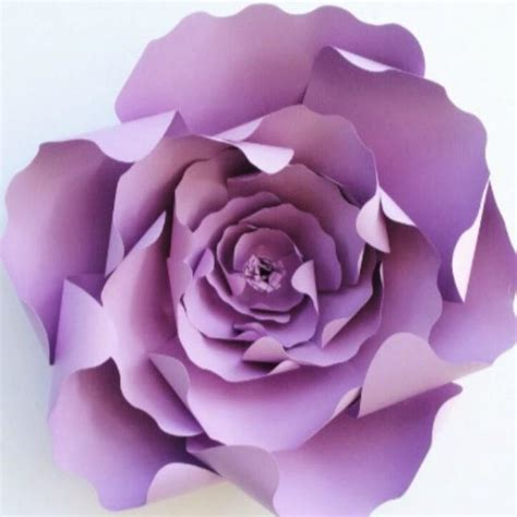 paper flower template diy paper flower pattern paper