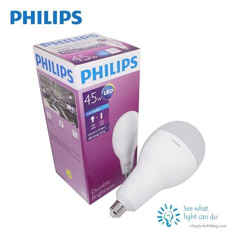 Led Philips Bulb b 243 ng led bulb philips 45w e27 c 244 ng ty 193 nh s 225 ng