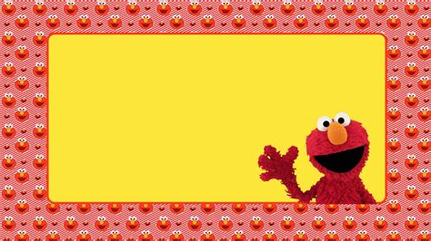 elmo template for invitations free printable elmo invitation templates