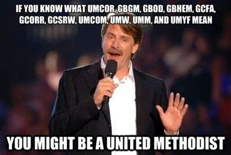 methodist alpha joke united methodists are fun pinterest