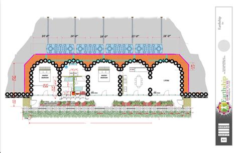 earthship floor plan earthship construction collingwood earthship