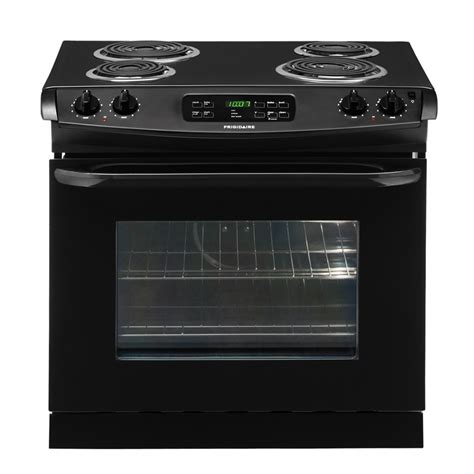 drop in stove shop frigidaire 30 in 4 2 cu ft self cleaning drop in