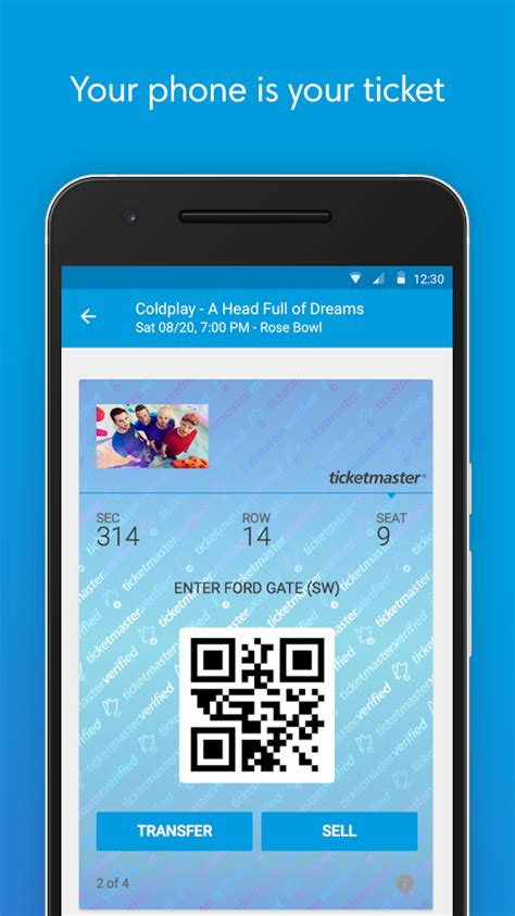 Your Mobile Phones The Ticket To The 02 Wireless Festival With Oyster Card Style Technology by Ticketmaster Event Tickets Android Apps On Play