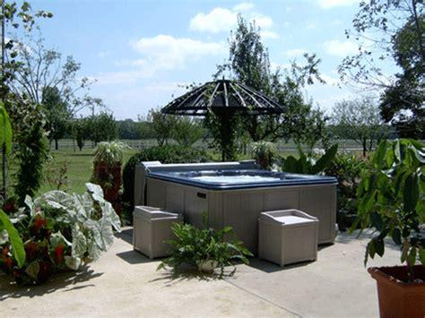 Resort Spas Backyard Hot Tub Design Ideas Backyard Spa Ideas