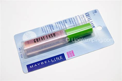 Maybelline Great Lash Clear Mascara Review Indonesia a makeup lipglossiping 187 archive