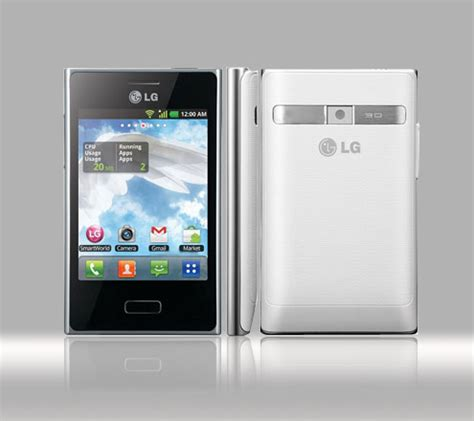 Casing Lg L3 lg optimus l3 e400 design features and price philippines