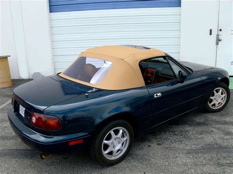 mazda convertible black miata 1990 2005 convertible top w sundroof window black